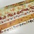 SAMPLE: 6 Designs of Fall Colors Limited Edition Washi Tape (1m each)