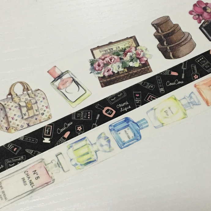 3 Rolls Limited Edition Washi Tape: Luxury Lady's items