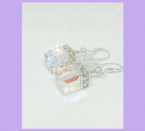 Rainbow prism earrings