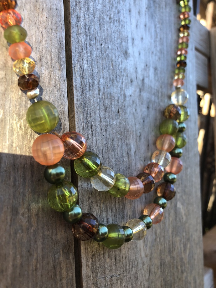 Shades of Autumn Necklace