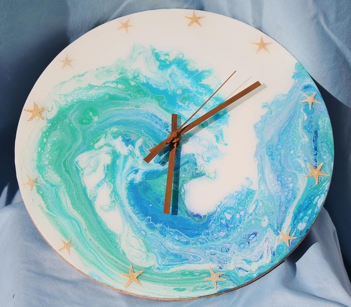 Ocean Wave Clock