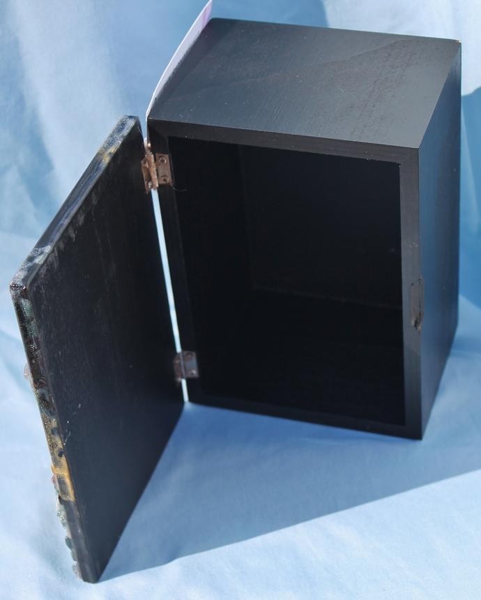 Resin Geode Wood Box - multi color