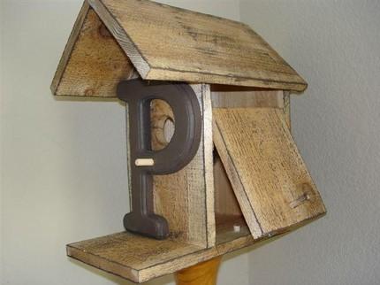 """Birdhouse - """"P"""""""