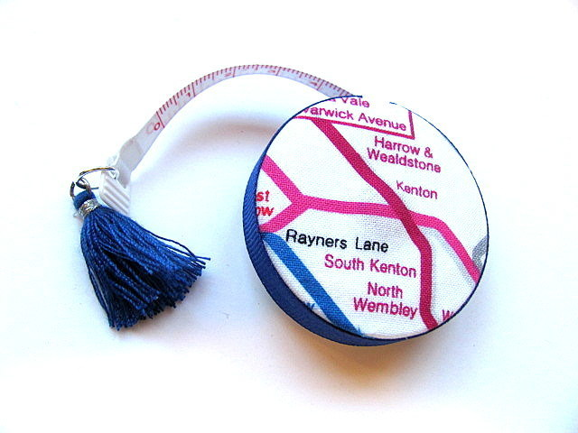 Small Tape Measure Map of London Retractable Measuring Tape
