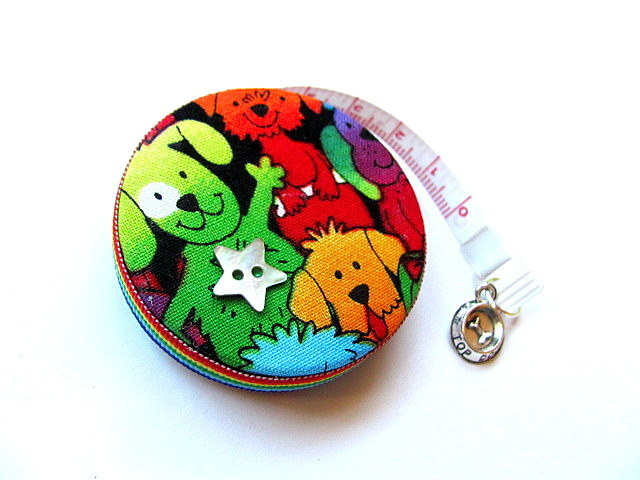 Measuring Tape Rainbow Dogs RetractableTape Measure