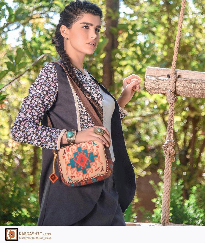 Handmade Carpet hand-woven Bags For Birthday or Christmas Gift. Homemade Create