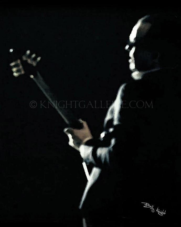 Guitar Player Illustration: Joe Bonamassa?