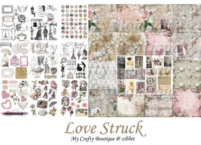 """Love Struck"" Printable Download"