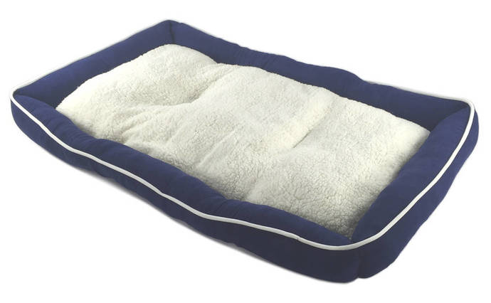 Brand New Pet Bed Cushion Mat Pad Dog Cat Kennel Crate Cozy Soft Sheep Fur 36 x