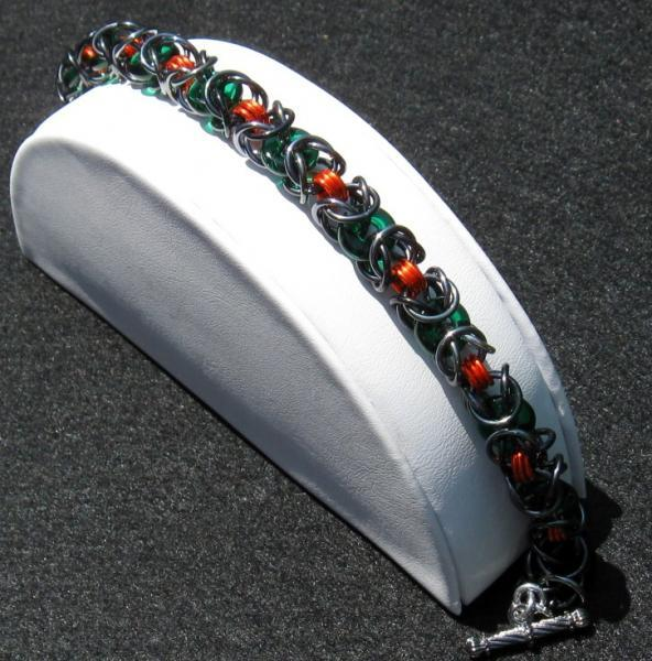 Twilight on the Fields Chainmaille Bracelet