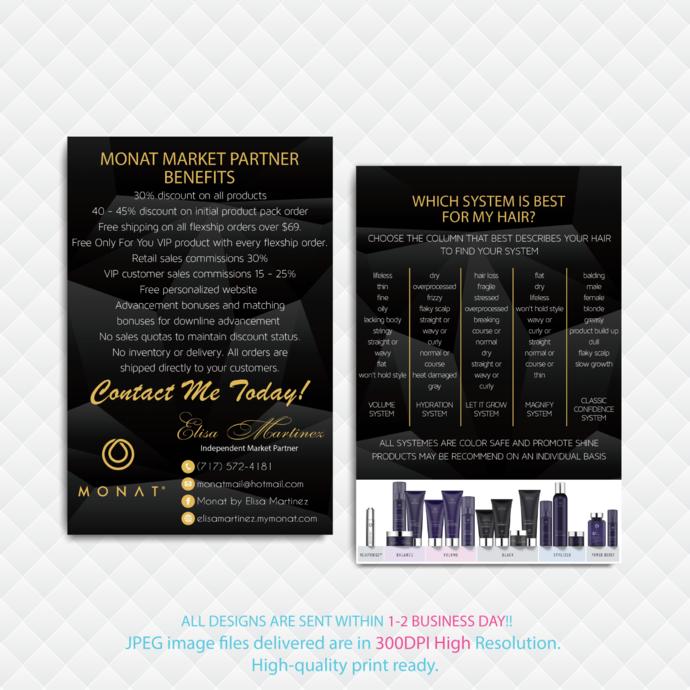 Monat Market Partner Benefits, Fast Free Personalization, Custom Monat Hair Care
