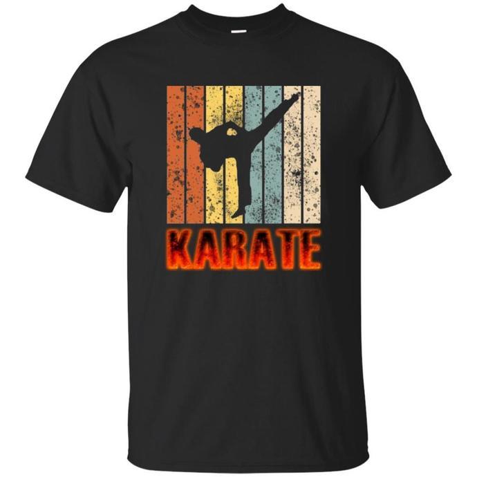 Retro Karate Powerful Men T-shirt, Karate Powerful Tee, Vinatge Karate T-shirt,