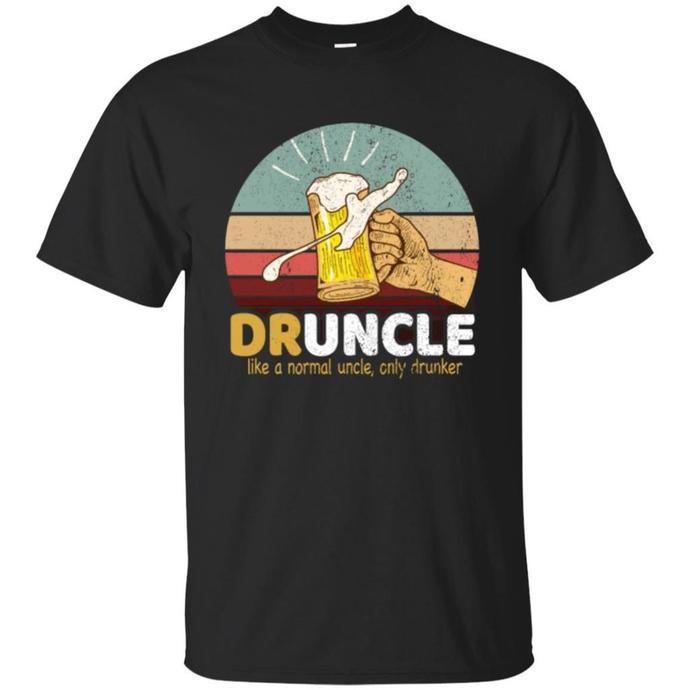 Druncle, Uncle loves beer, Druncle Definition Men T-shirt, Uncle loves beer Tee,
