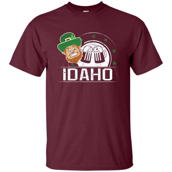 St Pattys Day Girl Idaho St Patricks Day Apparel Men T-shirt, Pattys Day