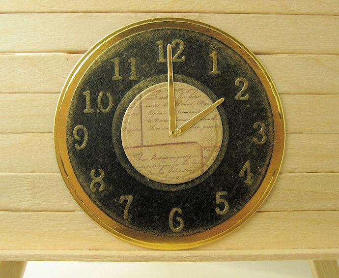 Clock Time Cutting Die