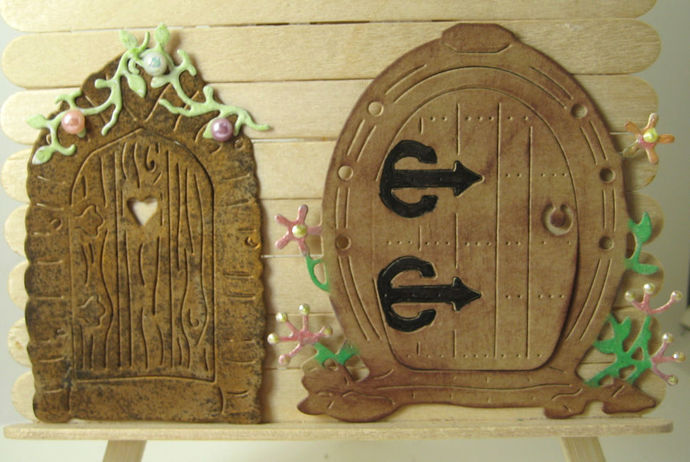 3pc Fairy House Die Set