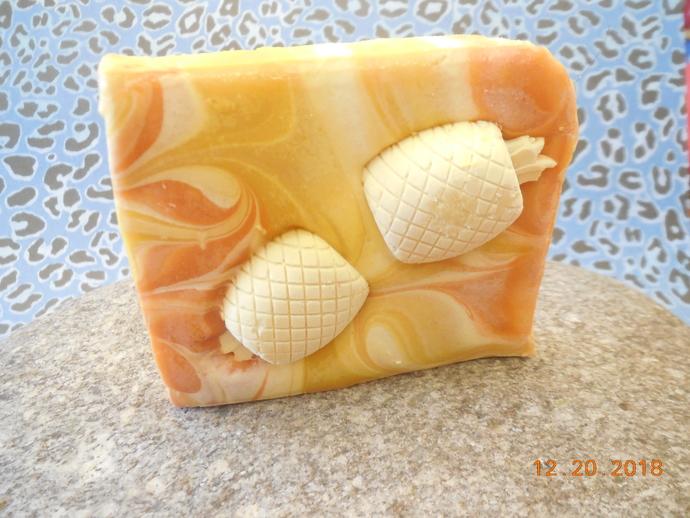Orange Blossom Scented Premium Bar Soap