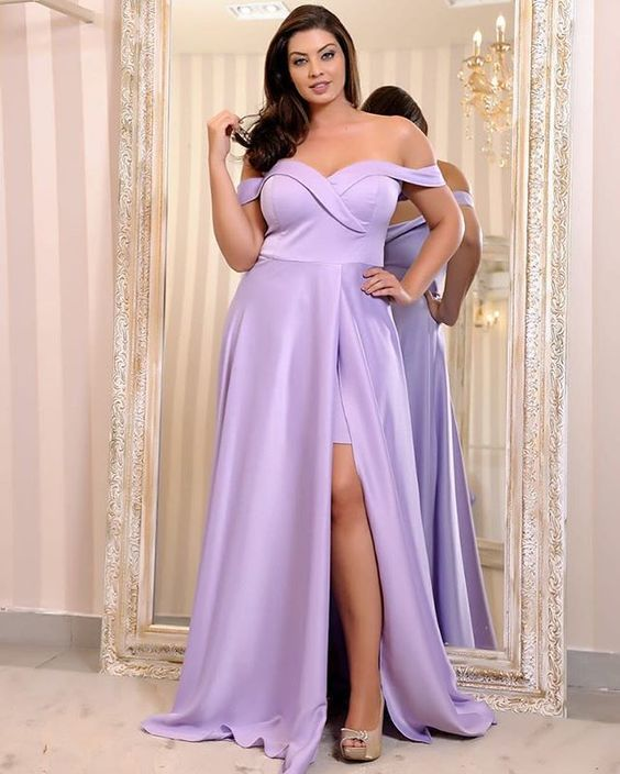New Arrival Sexy Lavender Satin Long Prom Dress ,Sweet 16 Prom Gowns ,Long Prom