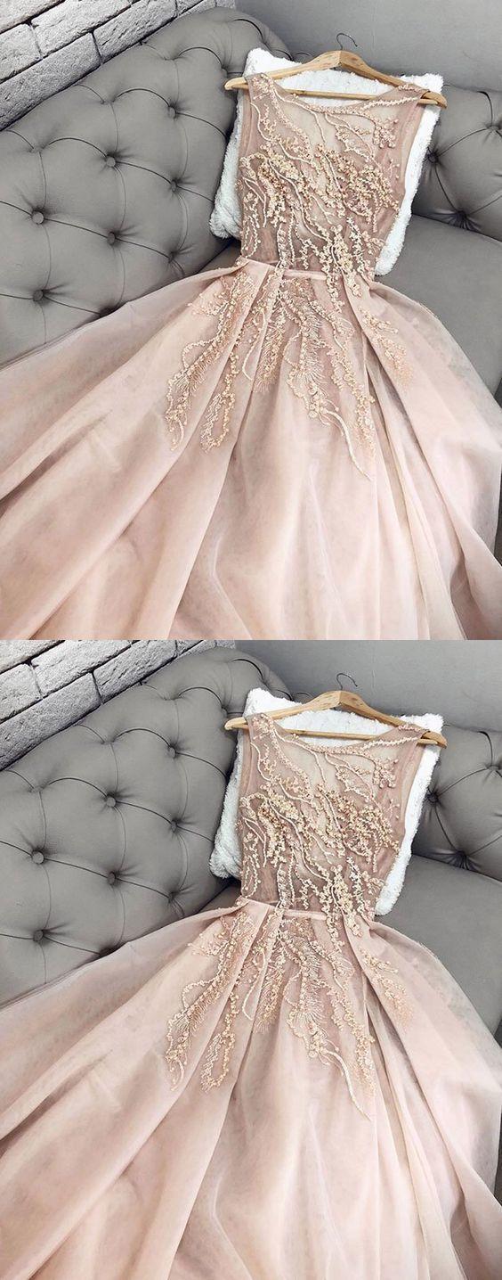 Plus Size Champagne Chiffon Long Prom Dress Fashion By Dress On