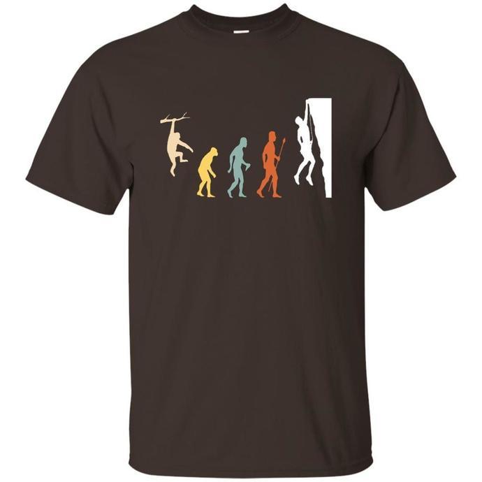 Retro Funny Rock Climbing Men T-shirt, Rock Climbing T-shirt, Retro Rock