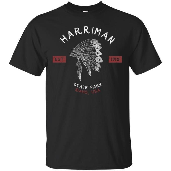 Harriman State Park Idaho Souvenirs Men T-shirt, Idaho Souvenirs T-shirt,