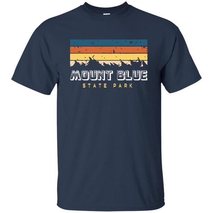 Mount Blue State Park Maine Souvenirs Men T-shirt, Mount Blue State Park Tee,