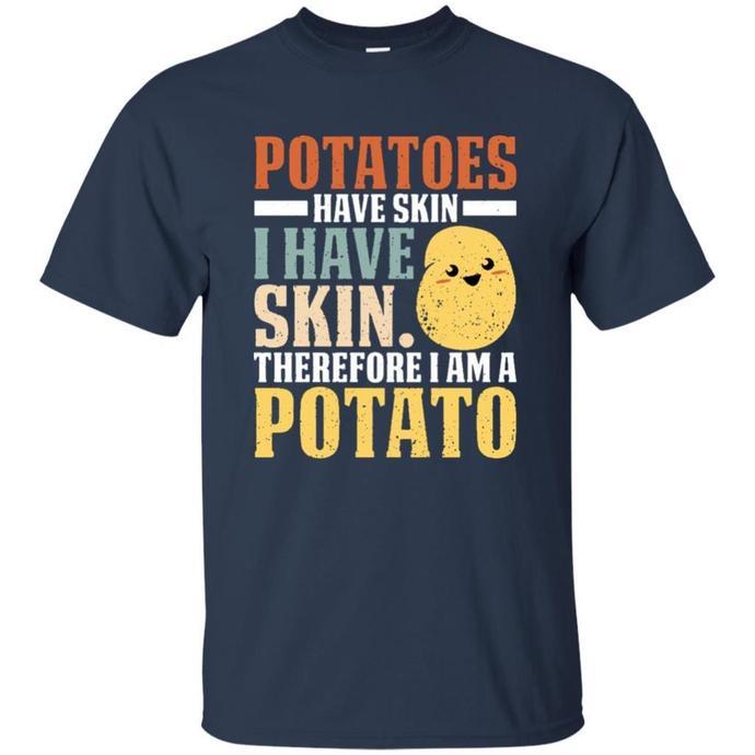 Always Be A Potato Love Potatoes Kawaii Men T-shirt, Potato Love T-shirt,