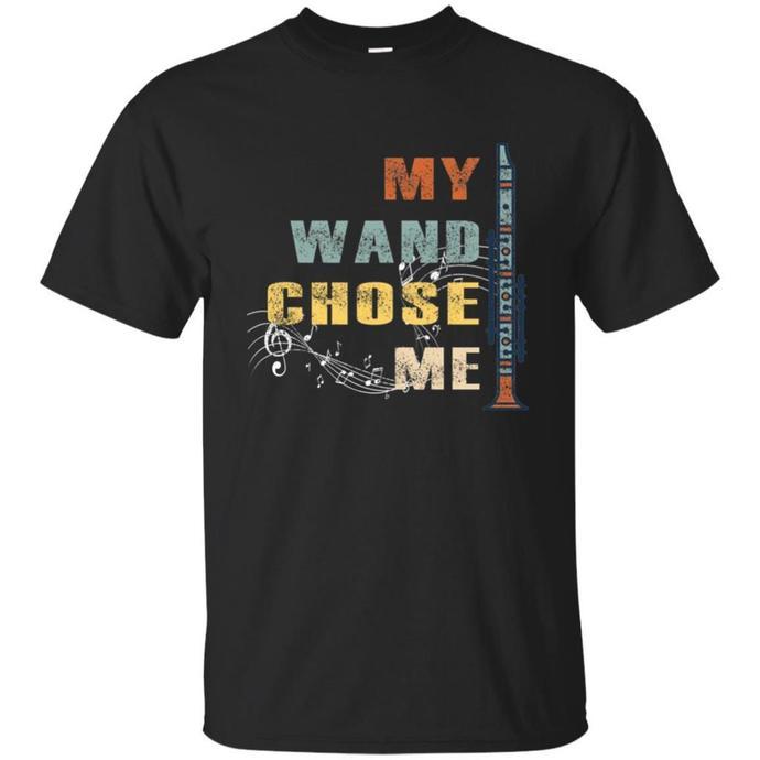 My Wand Chose Me Men T-shirt, Retro Wand T-shirt, Vintage Wand Tee, My Wand