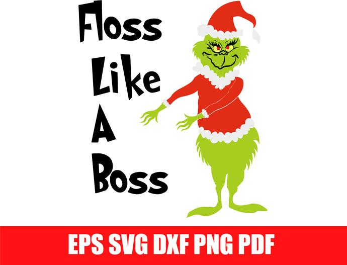 Christmas Grinch Svg.Grinch Floss Like A Boss Svg File Grinclipart Grinchmas Svg Christmas Files Christmas Svg Christmas Clipart Instant Download