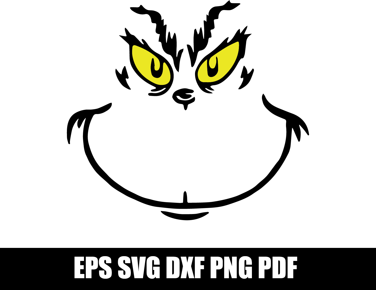 Download The Grinch SVG png pdf dxf eps Digital Instant by SvgGyn ...