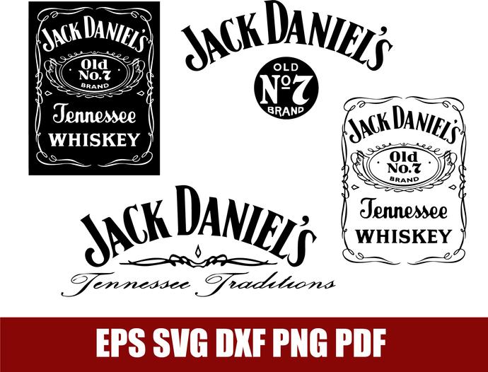 Jack Daniels svg, Jack decor svg, Jack Daniles, Jack cricut, Jack logo, Jack