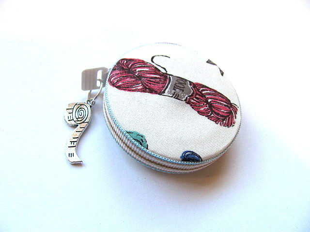 Tape Measure Work In Progress Yarn Knitting Retractable Small Measuring Tape