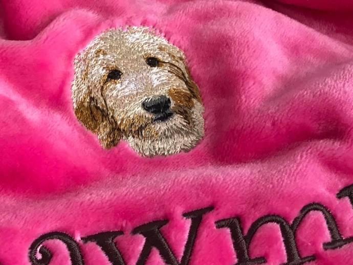 Goldendoodle Blanket