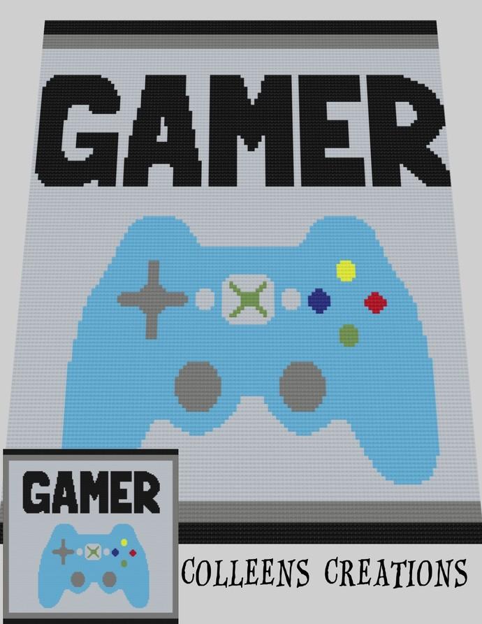 Gamer Crochet Written & Graph Design