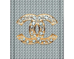 Chanel Shower Curtain 72w X 72h