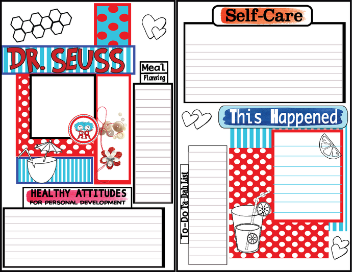 Small Journaling Cards Food Journaling-Week in Review- Bullet Journal-Comes in