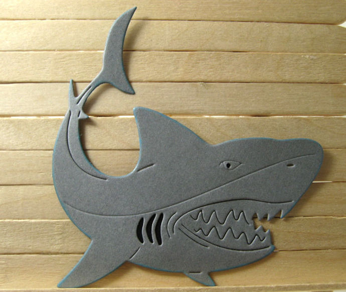 Shark Metal Cutting Die Style #2