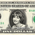 PENNY MARSHALL on a REAL Dollar Bill Cash Money Collectible Memorabilia