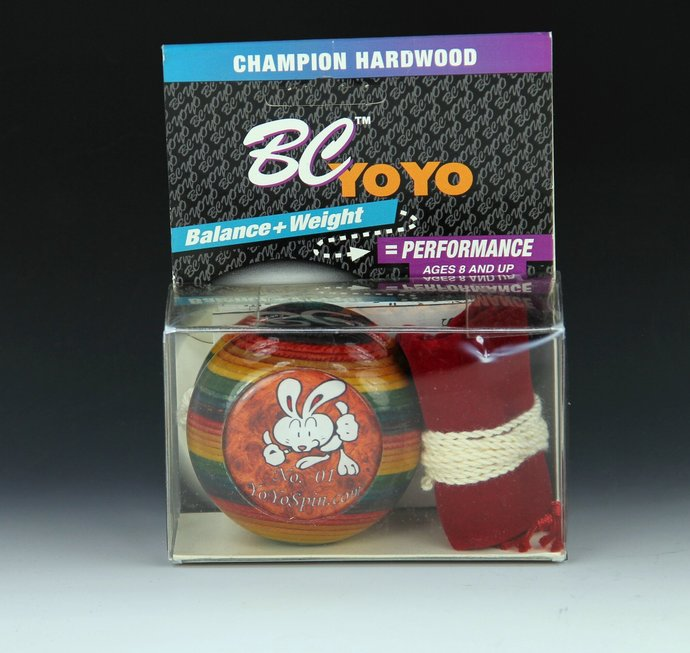 "Vintage Tom Kuhn/BC Rainbow Imperial YoYo: No. 01 of 12 ""Wood Is Good"" Limited"