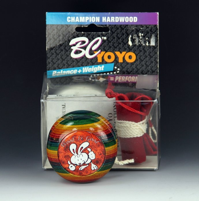"Vintage Tom Kuhn/BC Rainbow Imperial YoYo: No. 02 of 12 ""Wood Is Good"" Limited"