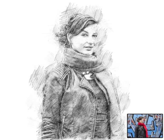 Transform Portrait to drawing,Custom Pencil Portraits,Drawn Portraits ,Custom