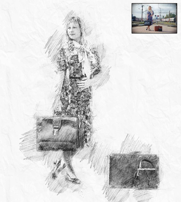 Transform Portrait to drawing,Custom Pencil Portraits,Drawn Portraits ,Custom