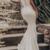 Spaghetti Prom Dresses Mermaid Long Bridesmaid Dresses Ivory Prom Dresses F1825