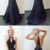 Sexy Long Prom Dresss with Appliques Lace Charming Mermaid Evening Party Dress