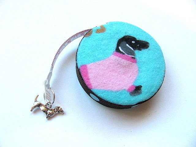 Tape Measure Sweater Dachsunds Retractable Small Measuring Tape