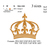 Crown embroidery machine, Crown embroidery design embroidery pattern No 743 ...