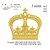 Crown embroidery machine, Crown embroidery design embroidery pattern No 744 ...