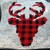 Plaid Deer Pillow Crochet Written & Graph Design