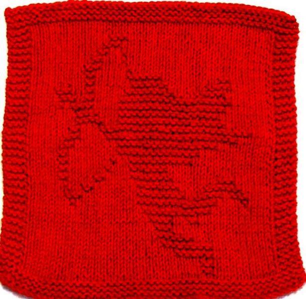 Knitting Cloth Pattern  - CUPID     PDF