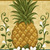 Tropical Pineapple Floral Cross Stitch Pattern***LOOK***